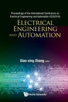 Electrical Engineering And Automation   Proceedings Of The International Conference On Electrical Engineering And Automation  Eea2016  PDF