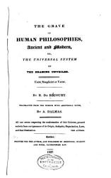 The Grave Of Human Philosophies Ancient And Modern Book PDF