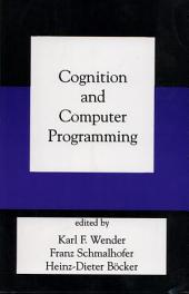 Cognition and Computer Programming