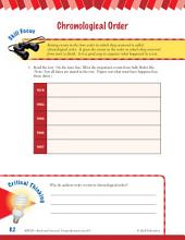 Read & Succeed Comprehension Level 6: Chronological Order Passages and Questions