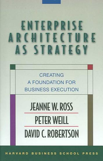 Enterprise Architecture as Strategy PDF