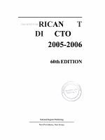 American Art Directory 2005 2006 PDF