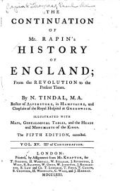 The History of England: Volume 15