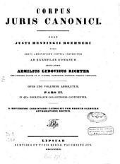 Corpus juris canonici: Volume 2