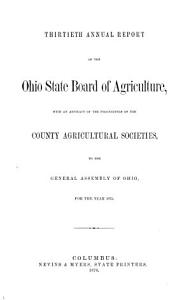 Annual Report of the Ohio State Board of Agriculture PDF