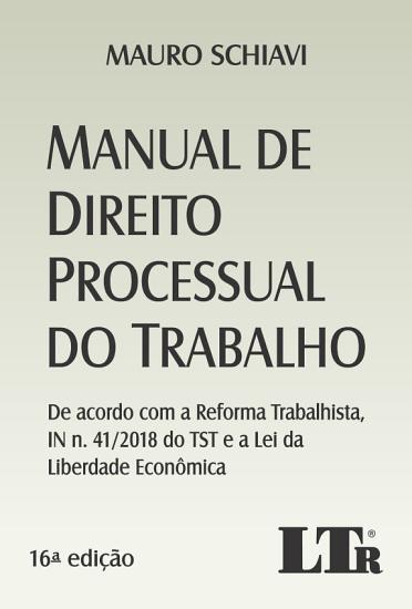 Manual de Direito Processual do Trabalho PDF