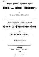 Englisch deutsches und deutsch englisches Hand  und Schulw  rterbuch PDF