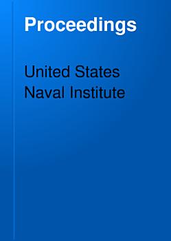 United States Naval Institute Proceedings PDF