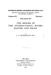The Regime of the International Rivers PDF