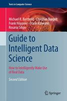 Guide to Intelligent Data Science PDF
