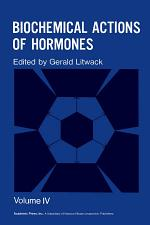 Biochemical Actions of Hormones