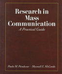 Research in Mass Communication