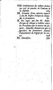 Quatrieme instruction pastorale de monseigneur l'Archevêque Duc de Cambray, ... au clergé et au peuple de son diocese ou l'on prouve que c'est l'Eglise qui exige la signature du formulaire, et qu'en exigeant cette signature elle se fonde sur l'infaillibilité, qui est promise pour juger des textes dogmatiques