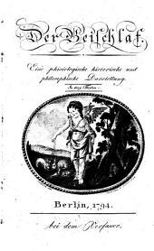 Der Beischlaf: Eine phisiologische, historische und philosophische Darstellung in drei Theilen, Band 1