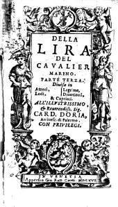 Della lira del cavalier Marino