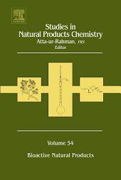Studies in Natural Products Chemistry: Bioactive Natural Products