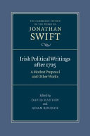 Irish Political Writings after 1725