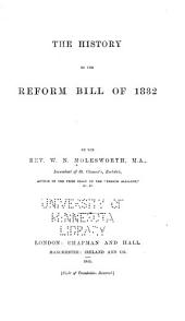 The History of the Reform Bill of 1832
