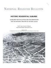 Historic Residential Suburbs PDF
