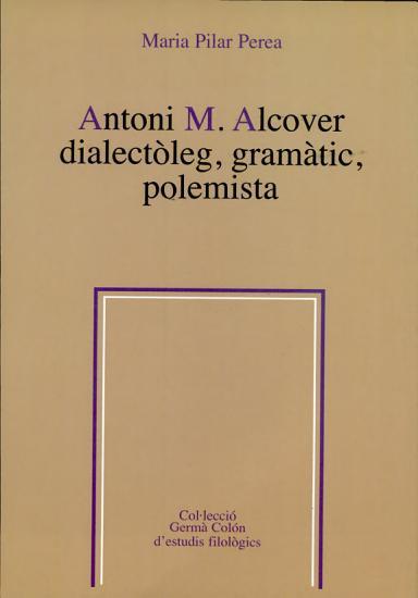 Antoni M  Alcover PDF