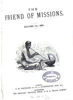 The Friend of missions  with which is incorporated Onward and upward   PDF