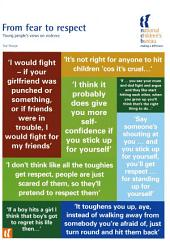 From Fear to Respect: Young people's views on violence