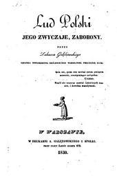 Lud Polski, jego zwyczaje, zabobony