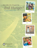 Download Are We on Track to End Hunger  Book