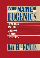 In the Name of Eugenics PDF