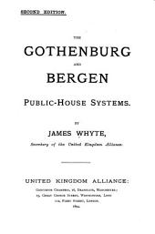 The Gothenburg and Bergen Public-house Systems