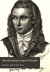 Devotional Songs of Novalis: German and English