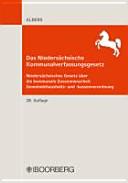 Das Nieders  chsische Kommunalverfassungsgesetz PDF