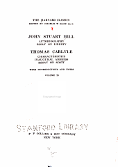 John Stuart Mill: Autobiography, Essay on Liberty, Volume 25