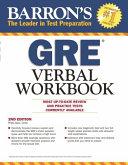 Barron s GRE Verbal Workbook Book