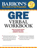 Barron s GRE Verbal Workbook Book