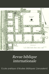 Revue biblique internationale: Volume3