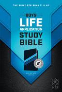 NLT Boys Life Application Study Bible  Tutone  Leatherlike  Midnight Blue  Indexed  PDF