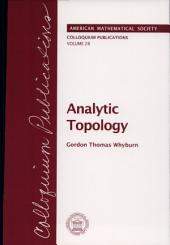 Analytic Topology: Volume 28, Part 2