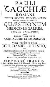 Quaestiones medico-legales: Volume 2