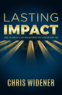 Lasting Impact PDF