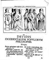 De druidis, occidentalium populorum philosophis