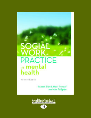 Social Work Practice in Mental Health PDF