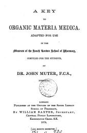 A key to organic materia medica