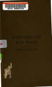 Spirit-gravities: With Tables ...