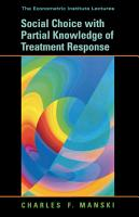 Social Choice with Partial Knowledge of Treatment Response PDF