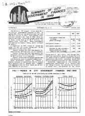 City Finances, 1949. Series G-CF49-.