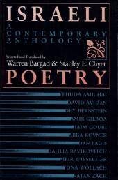 Israeli Poetry: A Contemporary Anthology