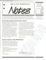 Ag in the Classroom Notes PDF