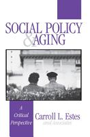 Social Policy and Aging PDF