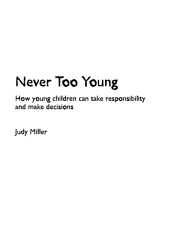 Never Too Young Book PDF